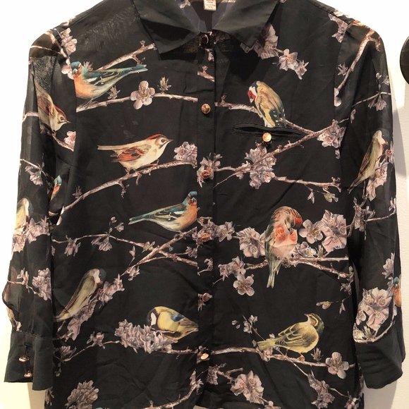 d006d5fad Ted Baker Tops   Bird And Branch Blouse   Poshmark
